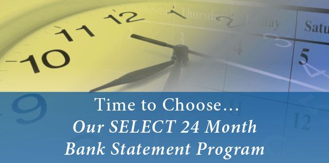 24 SELECT Statement - Our Bank Program Month Northstar Funding